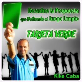Tarjeta Verde Kike Caba